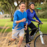 Anti-Aging Exercising in the Park